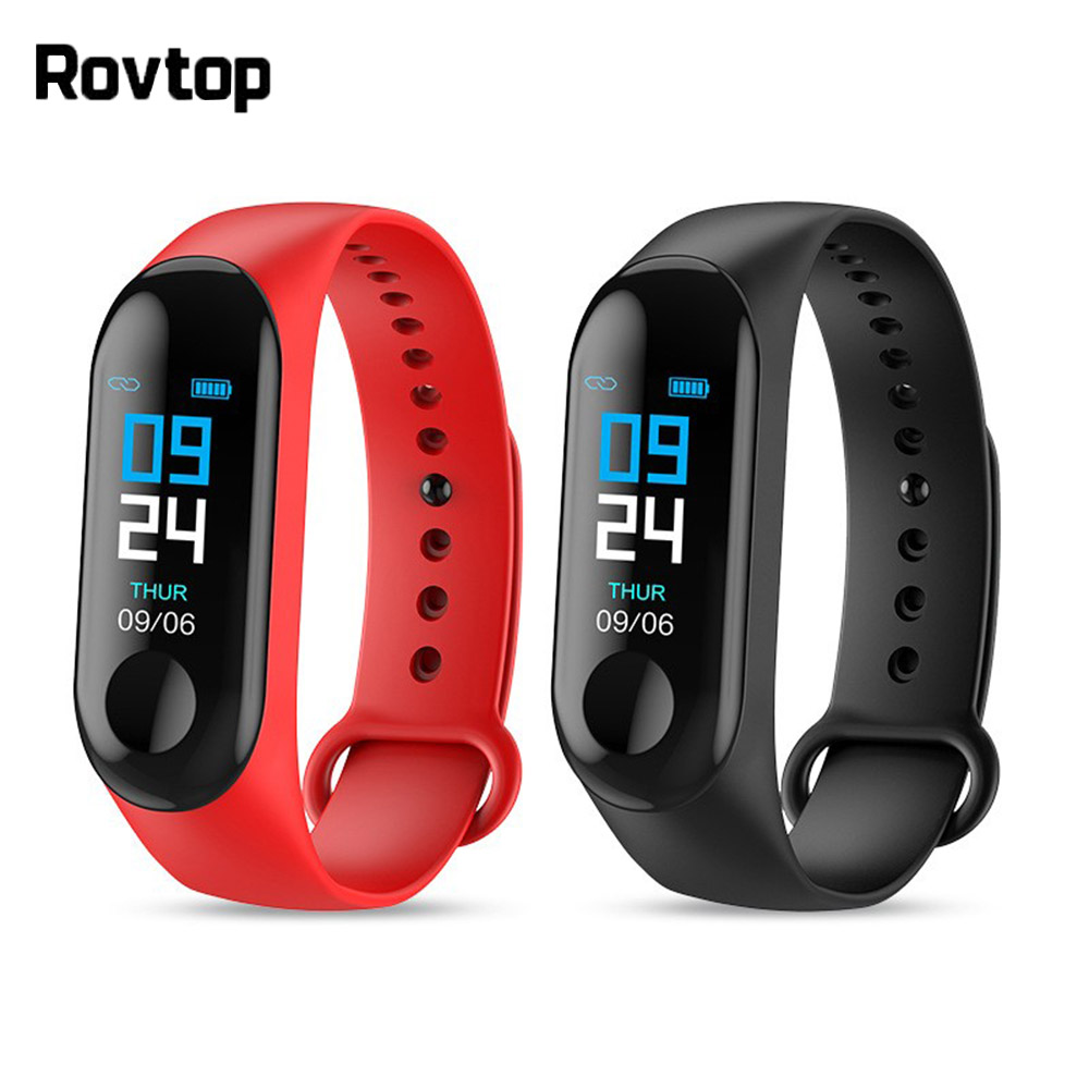 M3 Plus Smart Wristband Smart Bracelet Fitness Tracker M3plus Smart Band Heart Rate Activity Bracelet Sport Innrech Market.com