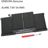 Bateria a1496 do portátil de onevan geunine para apple macbook air 13