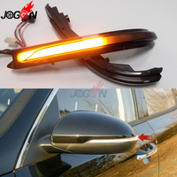 For Kia K5 Optima MK4 JF 2016 2019 Yellow LED Flash Dynamic Turn Signal Light Side Rearview Mirror Indicator Sequential Blinker