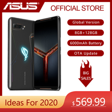 ASUS ROG telefon II (ZS660KL) Strix Edition telefon do gier wersja globalna 8GB 128GB Snapdragon 855 plus 6000mAh NFC OTA aktualizacja