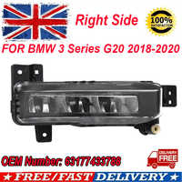 MagicKit 1x Driver Side LED Fog Light Lamp O/S 63177433788 For BMW 3 Series G20 2018-2020