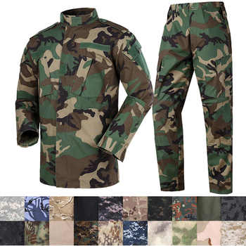 Mege Camouflage Army Tactical Military Uniform Combat Assualt Clothing Special Forces ACU BDU Militar Uniforms Airsoft Paintball - DISCOUNT ITEM  41% OFF All Category