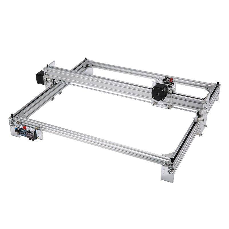 Mini 10W 15W CNC Laser Engraving Machine 50*65cm 2 Axis DC 12V Wood Metal Desktop Engraver Router Laser Printer Cutter Engraver
