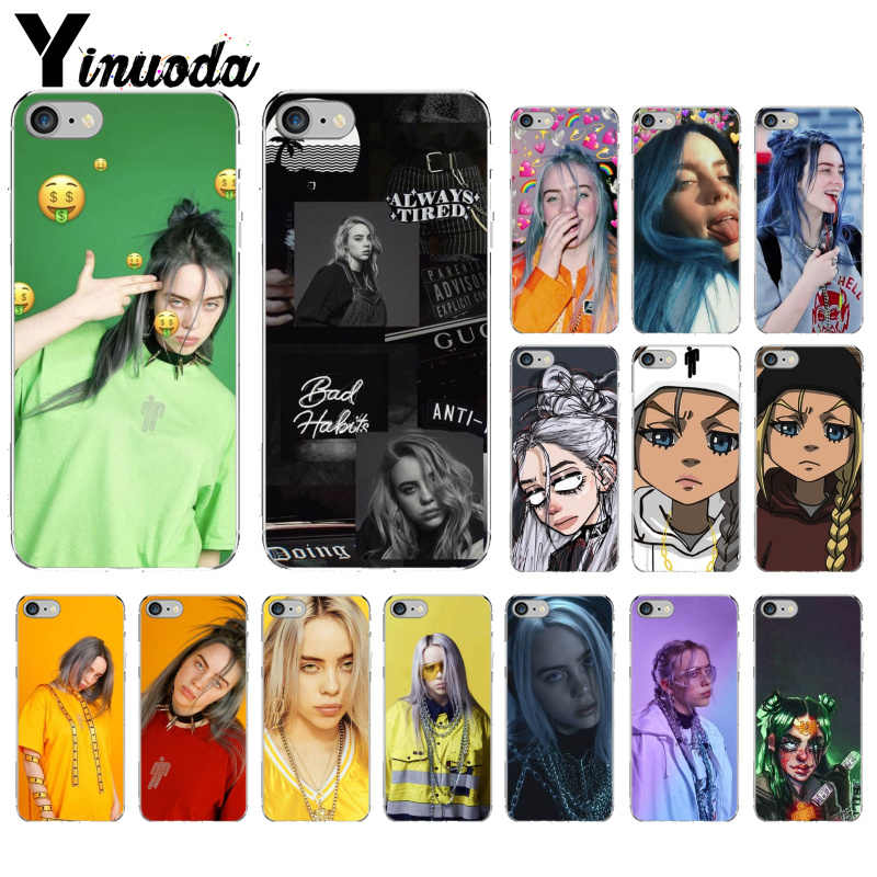 Yinuoda Billie Eilish 13 Girl DIY Printing Drawing Phone Case cover Shell for iPhone 5 5Sx 6 7 7plus 8 8Plus X XS MAX XR