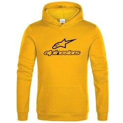 Estrela alpine esportes hoodies jaqueta de lã masculina alpine estrela motociclista moletom pulôver hip hop casual moletom com capuz