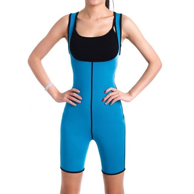 Ultra Neoprene Corset Bodysuit, Inner and Outer Wear Abdomen Belt Corset, Sports Sweat Wicking Bodysuit Gym Clothes 1