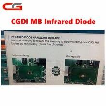 Mb para mercedes benz cgmb cg mb diodo infravermelho chip atualização de ferragem para substituir o diodo infravermelho