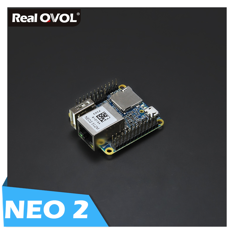 RealQvol FriendlyELEC NanoPi NEO2 V1.1 LTS Development Board Faster Than Raspberry PI 40X40mm (512MB/1GB DDR3 RAM) Cortex-A53