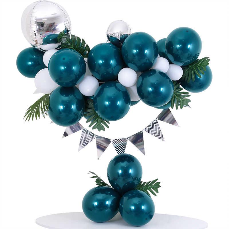 Latex Ballons environ 27.94 cm Sarcelle Vert Qualatex 11 in