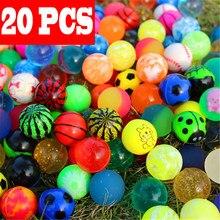 20 шт., Детские Волшебные прыгающие резиновые игрушки для взрослых