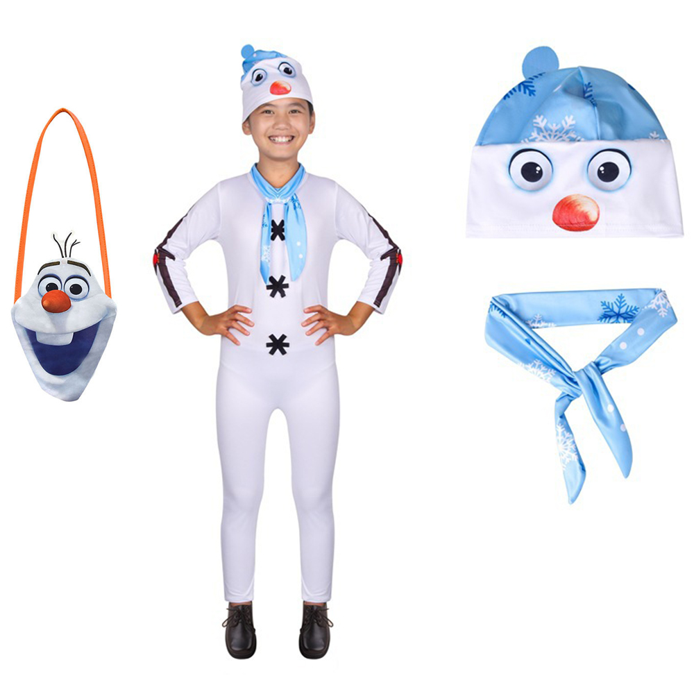 Infant Olaf Costume | Baby Boy Clothes Autumn New Cartoon Girl Clothing Set Olaf 2 Clothes Suits Infant Kids Toddler Clothes Christmas Outfits Kids