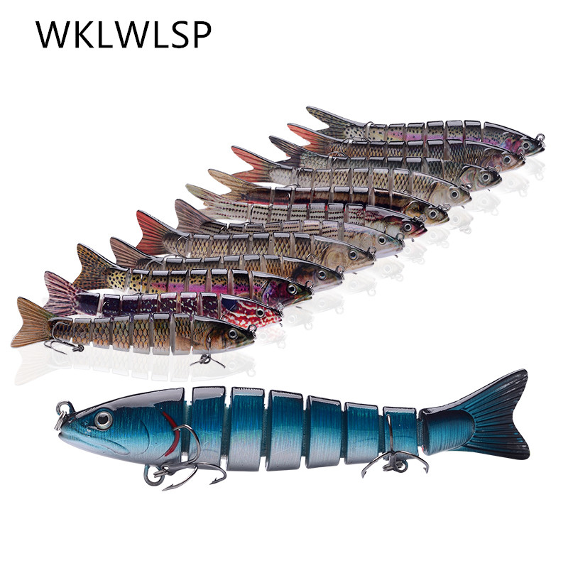 WKLWLSP Fishing Bait Diving Fishing Bait Sinking Swing Solid 10cm14 Cm 27g17g Fishing Accessories Wobblers Fishing  Lure