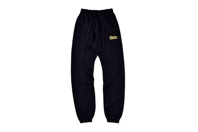 Top Version 2020 New Drew House Solid Sweatpants Men Women Justin Bieber Drew Casual Trousers Joggers Men HipHop Track Pants