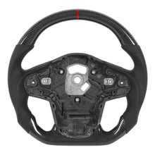Steering-Wheel Carbon-Fiber Supra A90 Toyota Perforated Nappa Flat-Bottom Fit-For GR