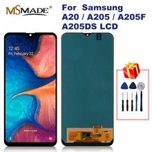 "6.4 ""Lcd Voor Samsung Galaxy A20 A205 SM-A205F Lcd-scherm Digitizer Vervanging Voor A205FN A205GN A205S A205 Lcd display(China)"