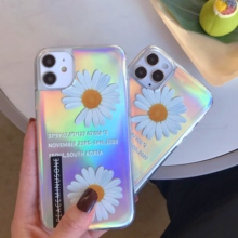 Flowers Laser Phone Cover Case For Xiaomi Mi 6X 8 Lite 9 SE