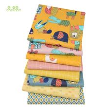 Cartoon Turmeric,Printed Twill Cotton Fabric,Patchwork Cloth For DIY Sewing Quilting Baby&Child's Bedclothes Shirts Material