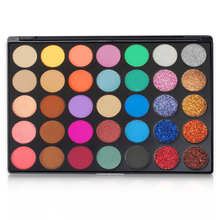 10 Piece N10 Plastic tray Eyeshadow Power Palette Glitter Highlighter Shimmer Makeup Pigment Private Label
