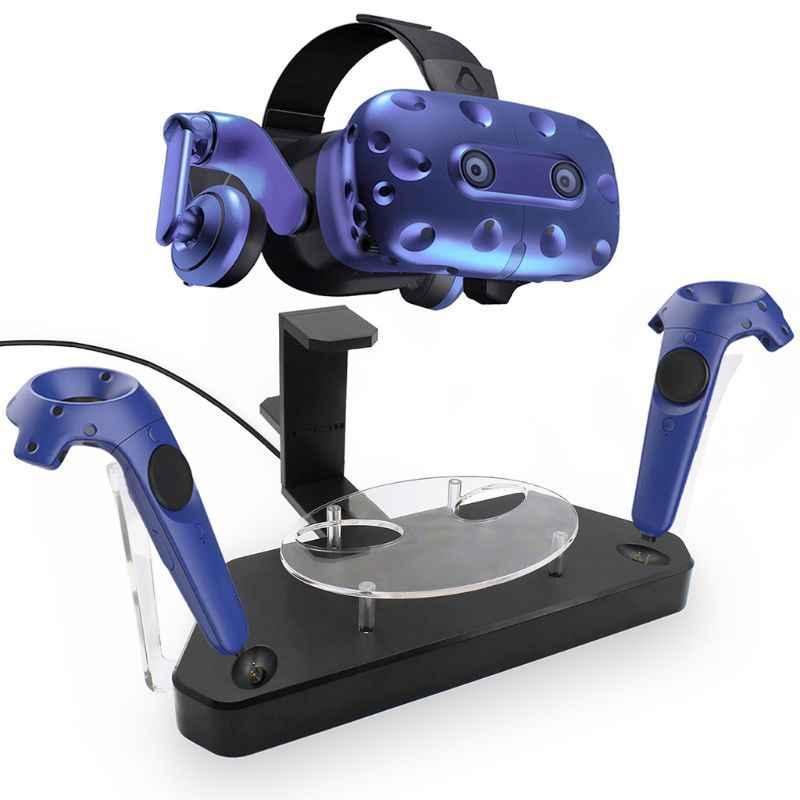 Новый беспроводной шлем Ручка Двойная зарядная подставка Док-держатель зарядное устройство для htc VIVE/VIVE Pro джойстик для игр в виртуальной реальности аксессуары