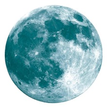 Luminous Moon Earth Wall Stickers for Kids Room Bedroom DIY 3D Home Decor