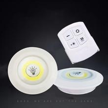 Диммируемая светодиодная подсветка под шкаф на батарейках COB светодиодный шайба светильник s шкафы светильник с пультом дистанционного управления для гардероба кухни и т. д