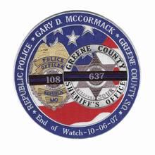 Benutzerdefinierte Polizei Patches Sterne Stickerei patches Für Bekleidungs Eisen auf Sichern Patch