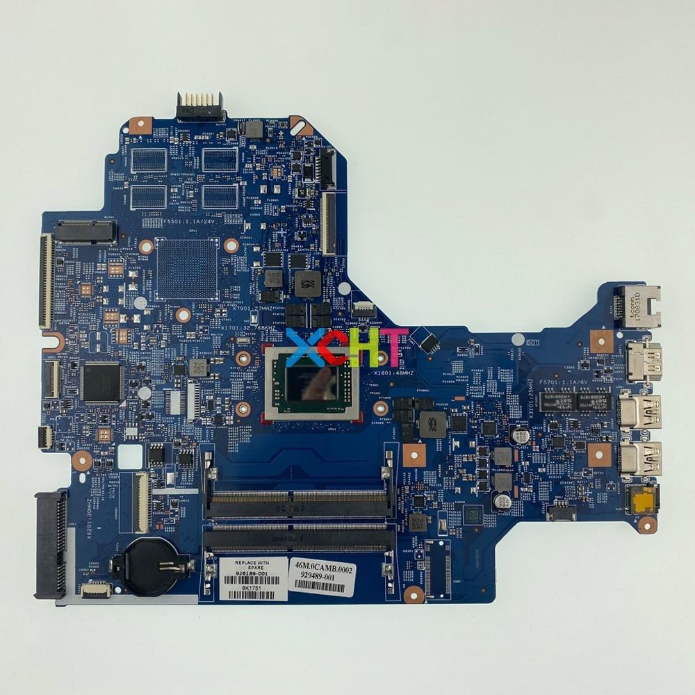 HP 17Z-AK000 SERIES AMD A10-9620P CPU LAPTOP MOTHERBOARD 926189-001 929489-001