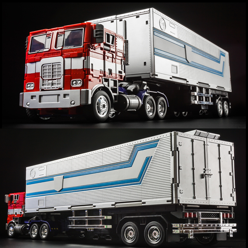 WJ MPP10 MPP-10 MP10 Alloy Transformation OP G1 Figure Trailer Truck Container Commander MasterPiece Diecast Oversize Toys Gifts