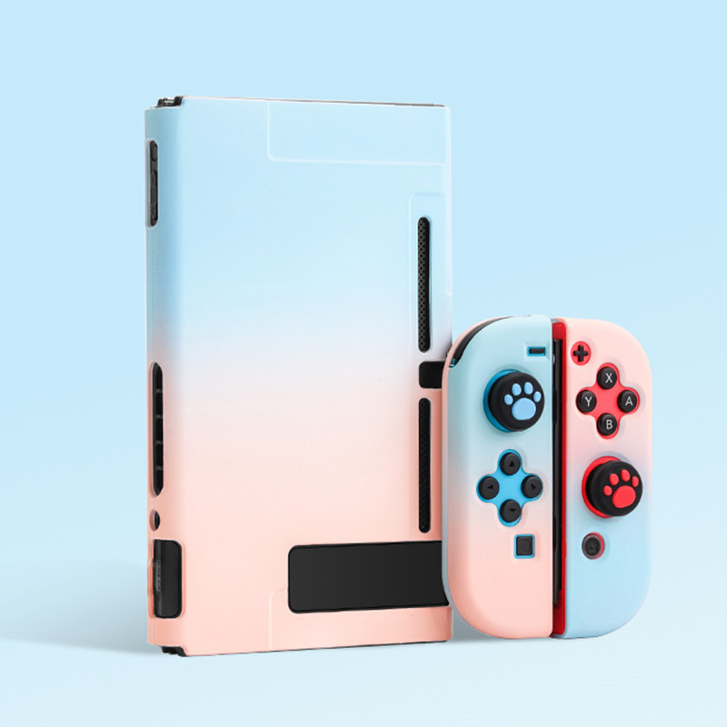 Nintendo Switch Case | For Nintendo Switch Case NS Console Protective Hard Case Shell For Switch Lite JoyCon Joy Con Mix Colorful Pink Cover