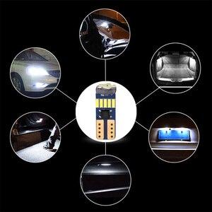 Image 5 - 600PCS T10 W5W Canbusหลอดไฟ194 LED 4014 SMD 15หลอดไฟLEDสีขาวข้อผิดพลาดฟรีรถอัตโนมัติWedgeภายในแสงโดม12V