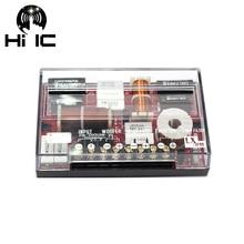 1Pcs 3 דרך HiFi רכב אודיו טרבל + בינוני + בס 3 יחידות מוצלב רמקול מחלק תדר Crossover מסננים 120 W 150 W