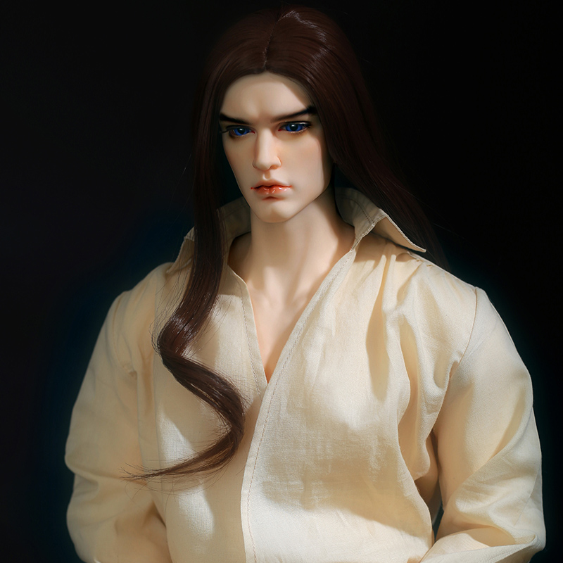 BJD Doll Chandra Fullset Option 1/3 Wild Vintage Long Wig Stylish Male Dreamlover