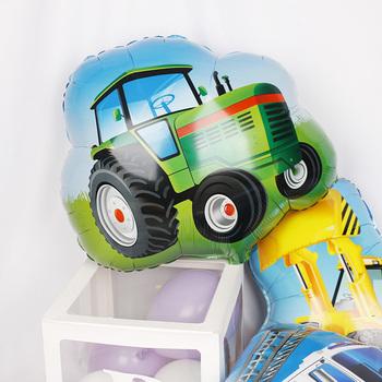 Wóz strażacki pociąg samochodowy z balonów foliowych transport morski balon pogotowia Globos prezenty dla dzieci dekoracje na imprezę urodzinową dla dzieci tanie i dobre opinie Folia aluminiowa Ślub i Zaręczyny Wielkie Wydarzenie Płeć Reveal Birthday party Dom ruchome Dzień dziecka Prima aprilis