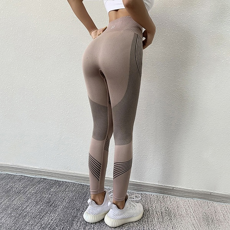 New Hotsale Women Sports Leggings No Transparent Exercise Fitness Leggings Push Up Workout High Waist Female Pants