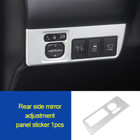 For  Car Toyota RAV4 2014 2018  interior decorative cover ABS chrome molding trim|Chromium Styling| |  -
