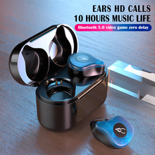 Buy Mini TWS X12 Pro Real Wireless In-ear Stereo Bluetooth 5.0 Headphones Earphones Stereo Sports Headphones directly from merchant!