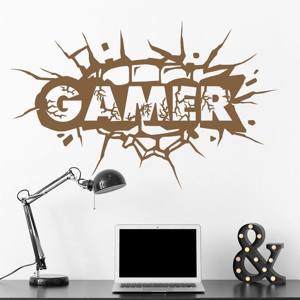 The Gamer Wall Sticker inambazaar.com