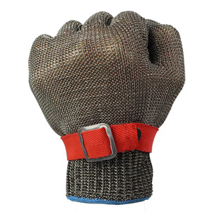 Image 2 - 5 Level Anti cutting Work Gloves Stainless Steel Wire Safety Gloves Safety Stab Resistant Work Gloves Cut Metal