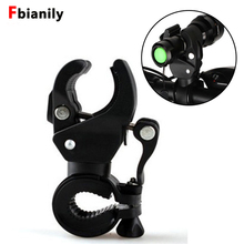 Flashlight-Holder Bicycle-Accessories Front-Light-Clip Universal Lantern LED Clamp Rotating-Handlebar-Mount