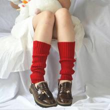 Stockings Warmers-Style Boots Leggings Winter Leg Knit Knee-High Women S1L7 Gift Candy-Color