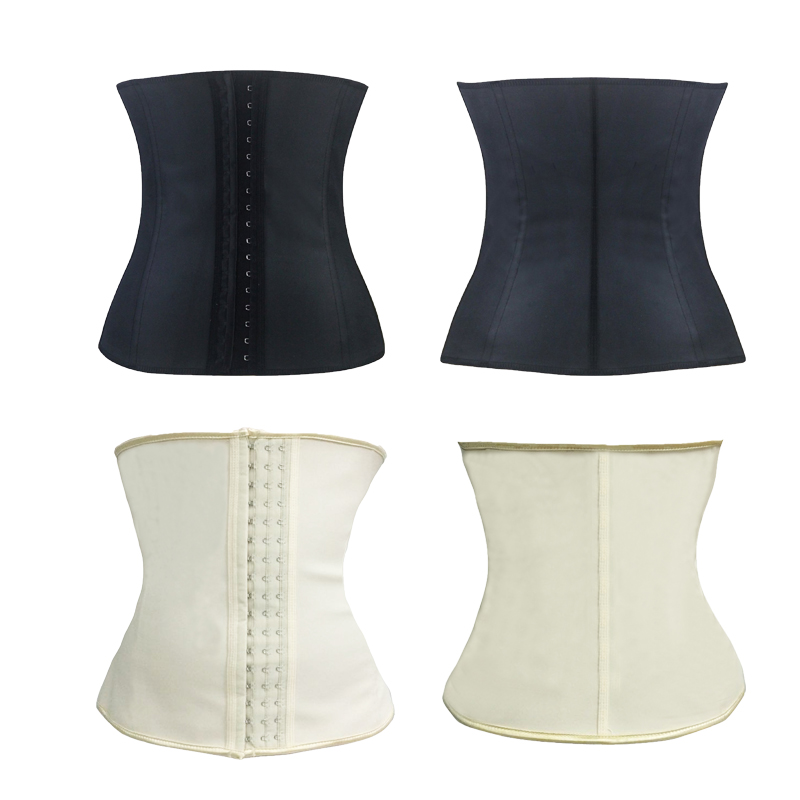 Belly Belt Body Shaper Trainer Corset 4 Spiral Steel Boned Waist Cinchers Slimming&Thin Waist Corset Solid Shapewear