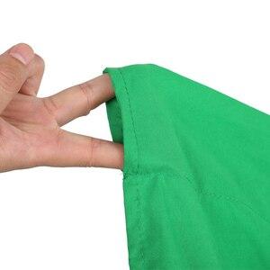 Fondos de Fotografía de pantalla verde/blanco/Negro/azul/gris muselina poliéster-algodón fondo profesional para estudio fotográfico