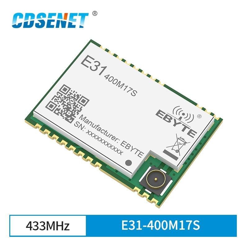 AX5243 433 МГц SPI SMD беспроводной трансивер IoT модуль двойная антенна IPEX низкая мощность E31-400M17S для ddc duc ddc трансивер