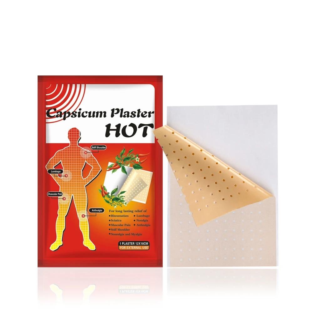 3bags=3patch 12x18cm Pain Relief Heat Patch for Arthritis Back,Health Care  Capsicum Plaster Chilli Plaster|heat patch|chilli plasterpain relief -  AliExpress