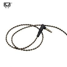 Kz Zs3/zs4/zs5/zs6/zsa 1,2 m Reinheit Sauerstoff Freies Kupfer Headset Silber Überzogene Draht 0,75mm Pin Upgrade Kabel Für ZS10 ZST