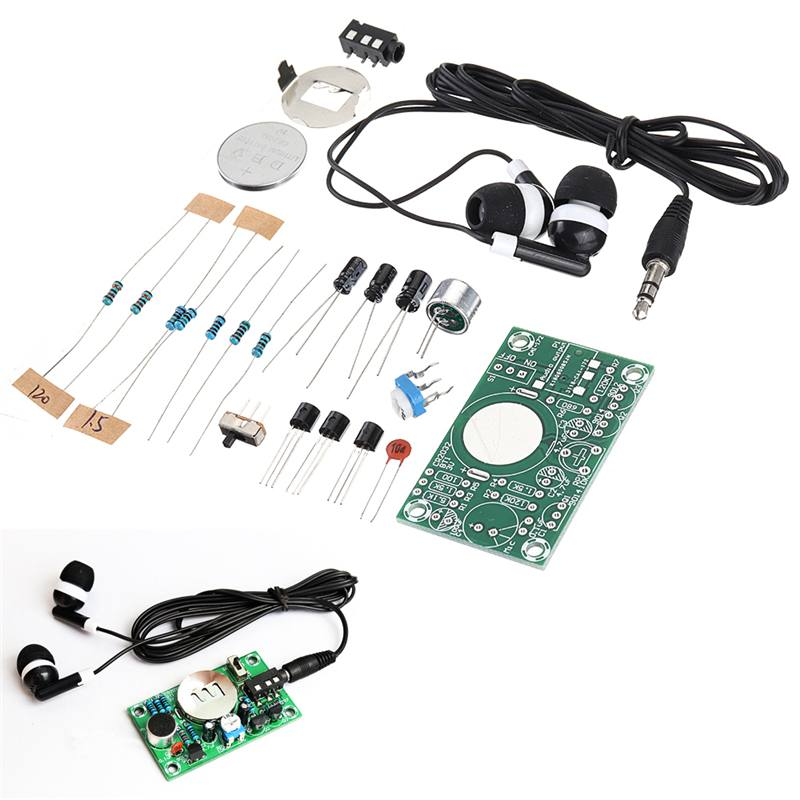 Aid Amplifier Electronic-Kit-Set Audio Teaching Practice DIY 3V Competition Interest-Making title=