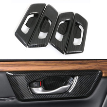 17-21 Honda CRV inner handle frame decoration scratch-resistant inner door bowl patch interior modification parts Fast delivery