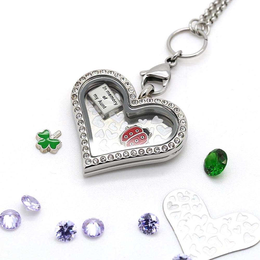 necklace charms BOFEE
