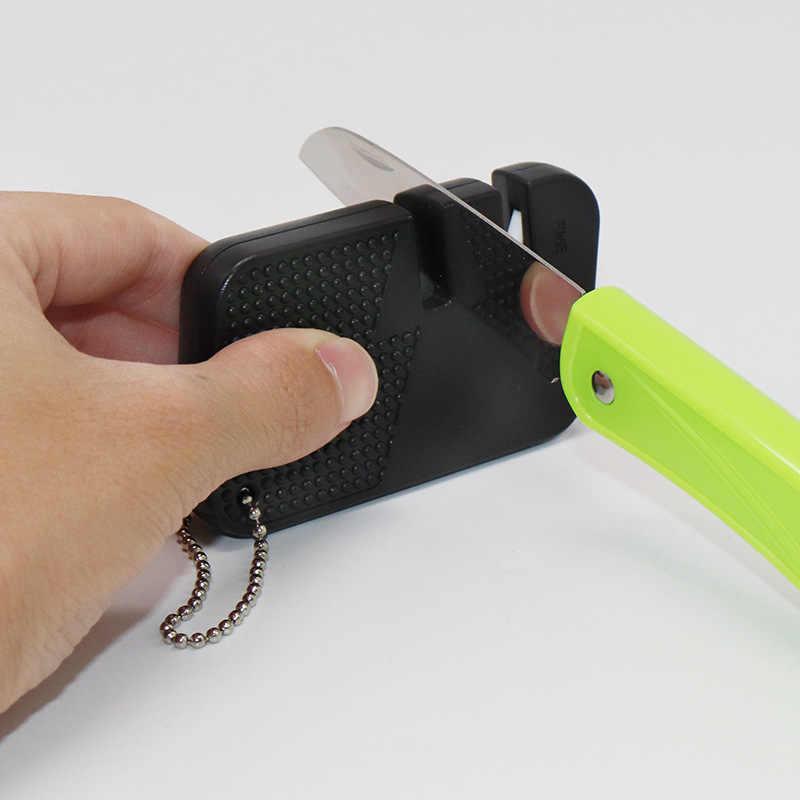 나이프 멀티 multitool 사냥 물고기 기어 후크 포켓 도구를 선명하게 EDC 야외 미니 숫돌 네일 파일 캠프 스톤