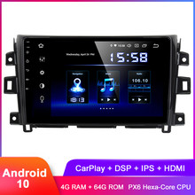 Dasaita 10 2 #8222 IPS Android 10 samochodowe Stereo GPS dla Navara NP300 2014 2015 2016 2017 Carplay Radio DSP Audio wideo radioodtwarzacz bez DVD tanie tanio CN (pochodzenie) Jeden Din 10 2 4x50W System operacyjny Android 10 0 Jpeg ABS+IRON 1024x600 Bluetooth Wbudowany gps Ładowarka